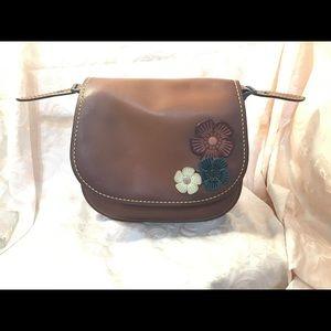 Coach 1941 Leather Saddle Bag 23